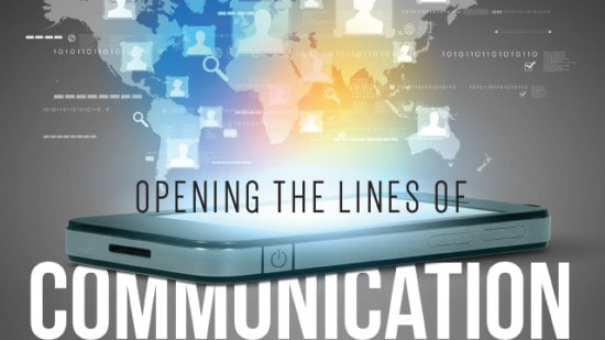 Opening lines of communication