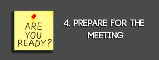 Prepare for the Meeting