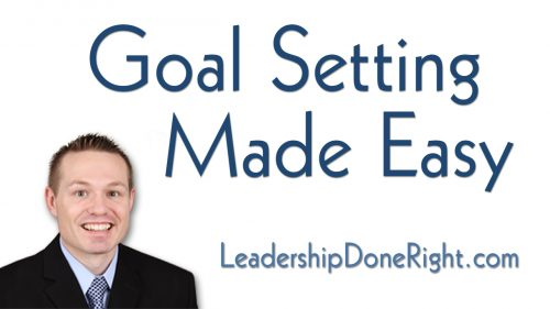 Goal Setting Made Easy