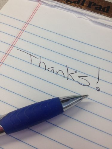 Podcast Episode #10 - Have You Experienced the Benefits of Gratitude - Thanks