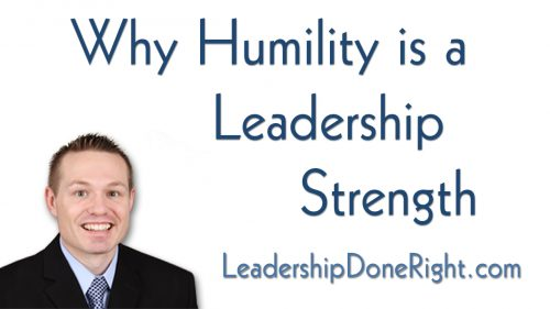 Why Humility Is A Leadership Strength