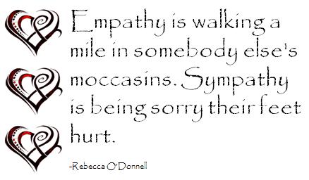 Empathy & Sympathy Quote