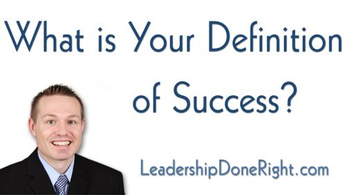 What is Your Definition of Success?